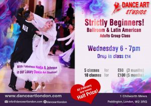 Strictly Beginners Ballroom & Latin American Dance