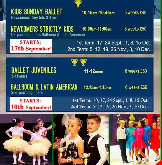Kids dance programme