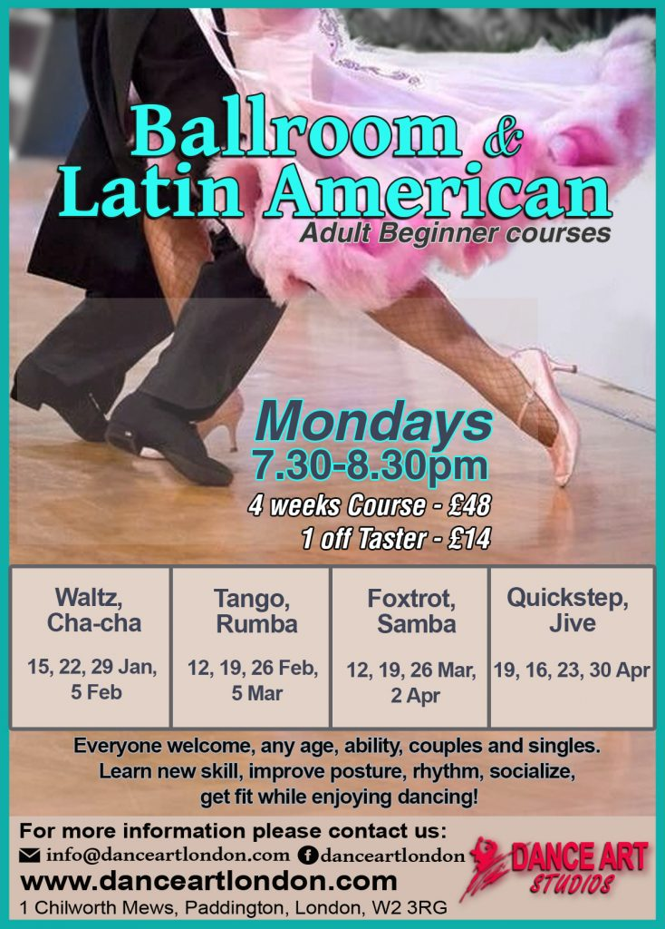 adult beginners ballroom and latin dance 2018