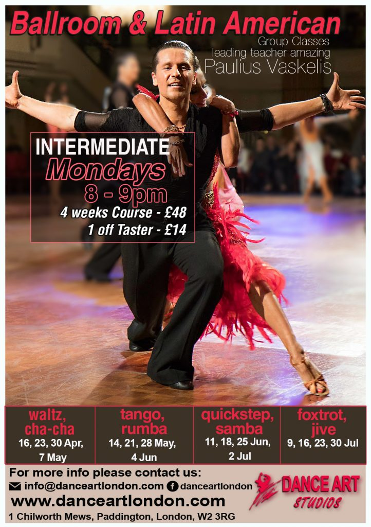 Paulius Vaskelis Dance course