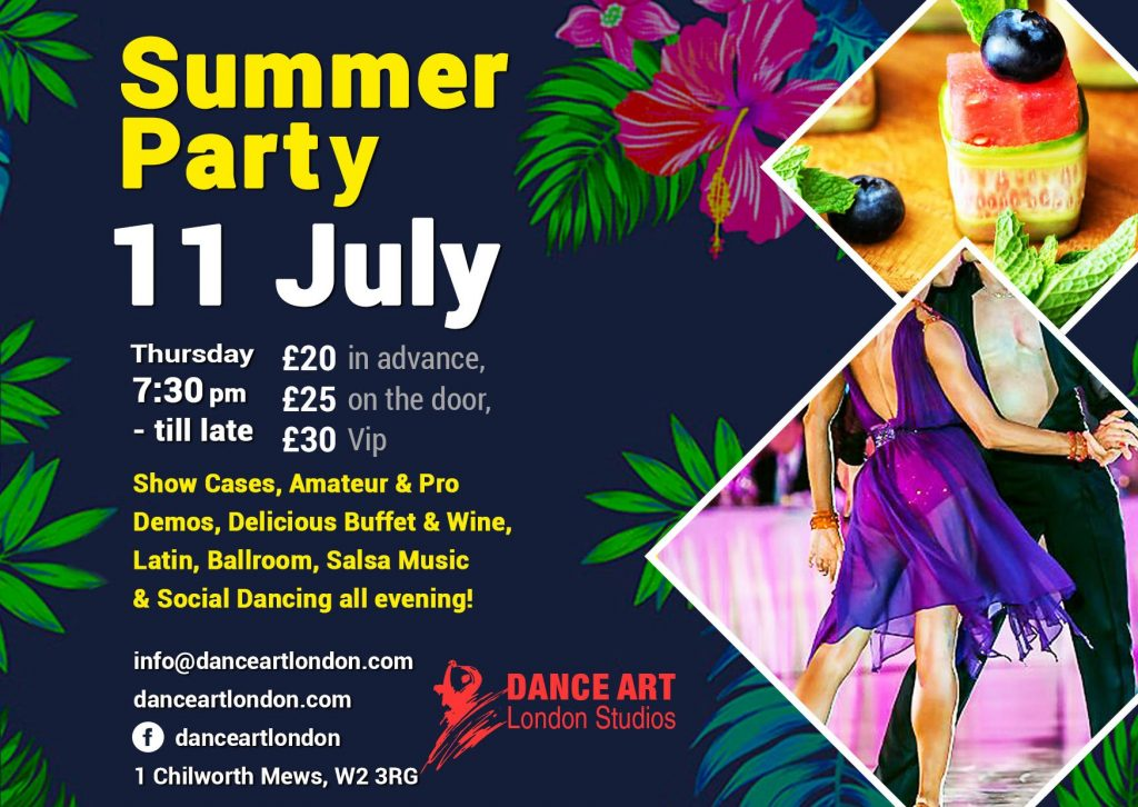 Summer Dance Party 2019