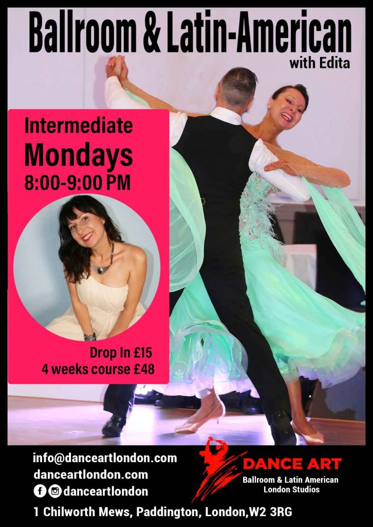 Intermediate ballroom with Edita